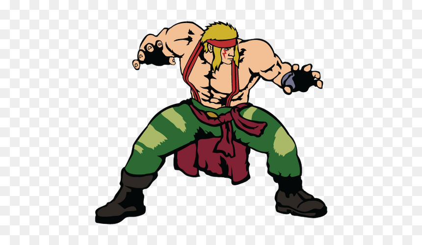 Street Fighter Clipart American Street Fighter 5 Alex Hd Png
