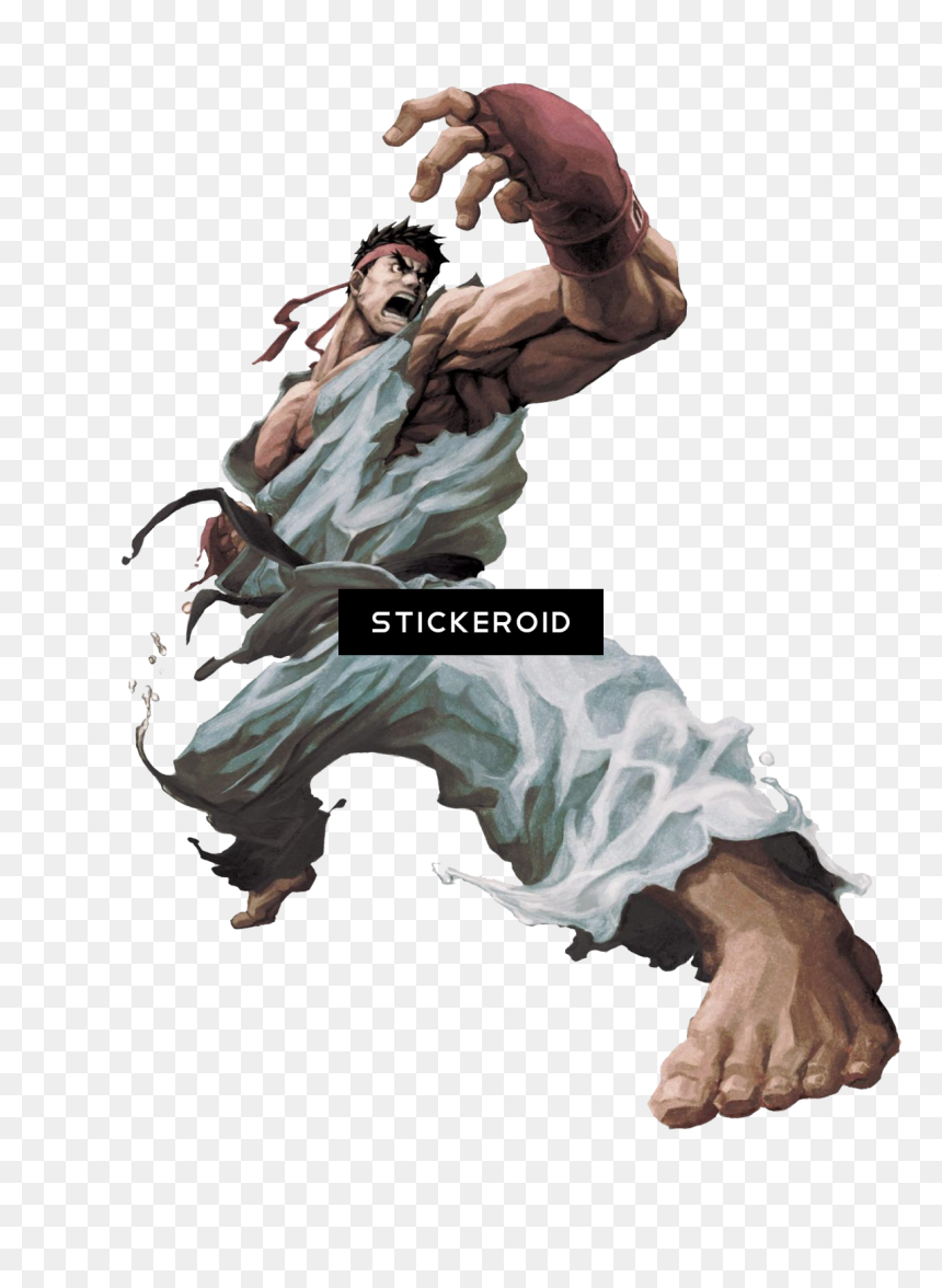 Ryu Fighter Street Street Fighter Ryu Png Transparent Png Vhv