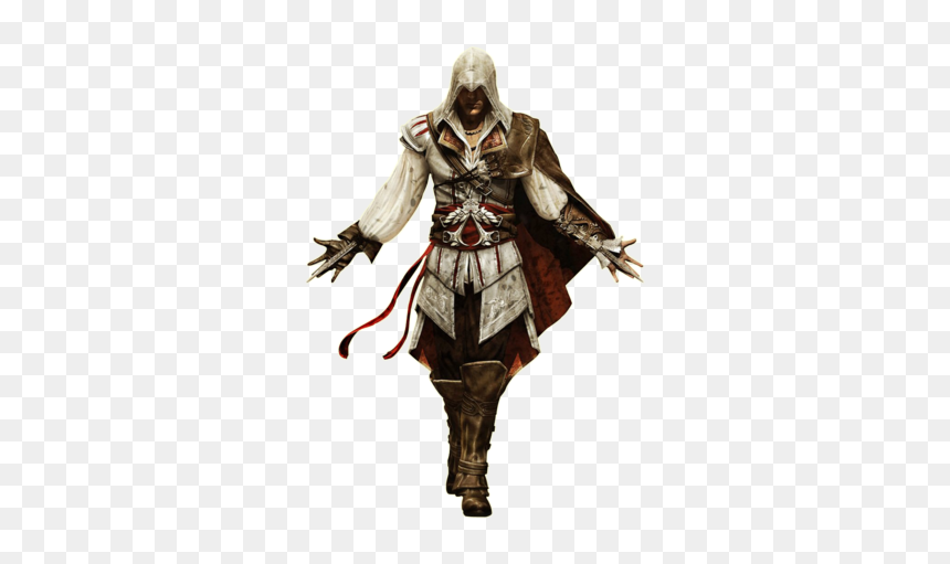 Ezio Auditore Transparent Png Assassin Creed White Background