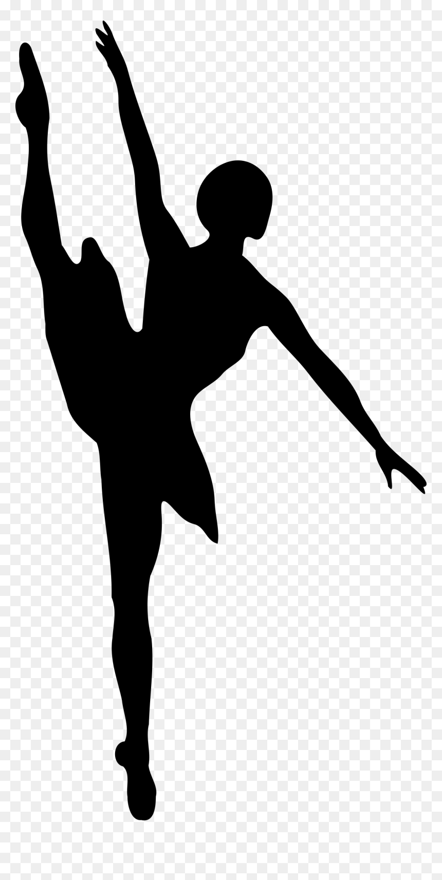 Salsa Dance Clipart Ballet Dancer Silhouette Hd Png Download Vhv