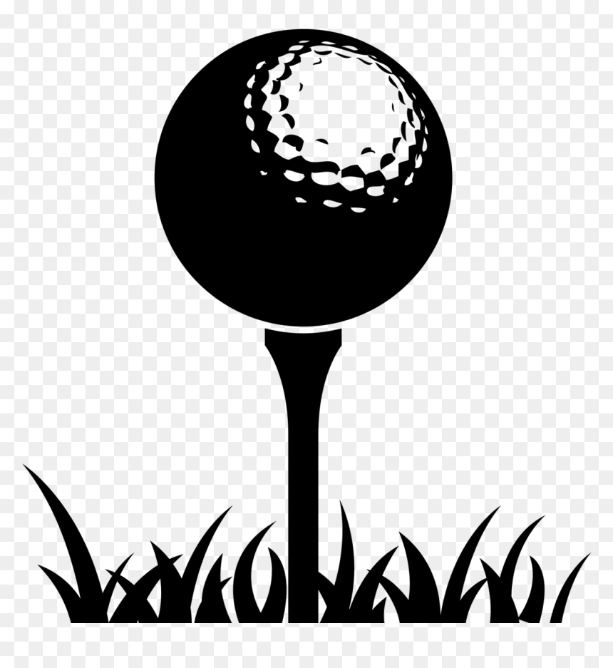 Golf Balls Golf Course Golf Tees Golf Ball On Tee Clipart Hd Png Download Vhv