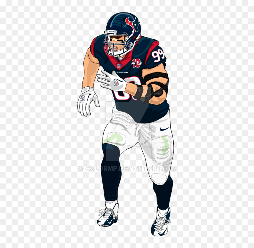 Thumb Image Nfl Football Player Drawing Hd Png Download Vhv
