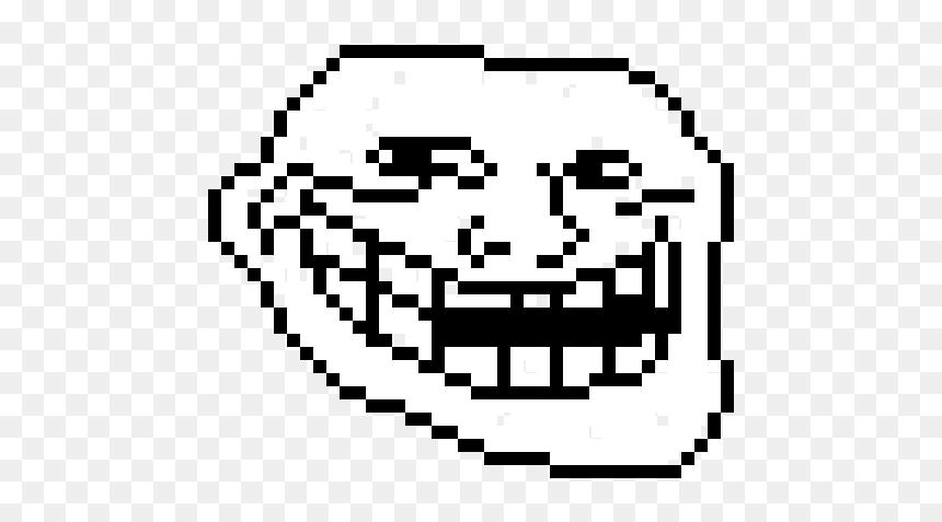 Troll Face Pixel Png Transparent Png Vhv