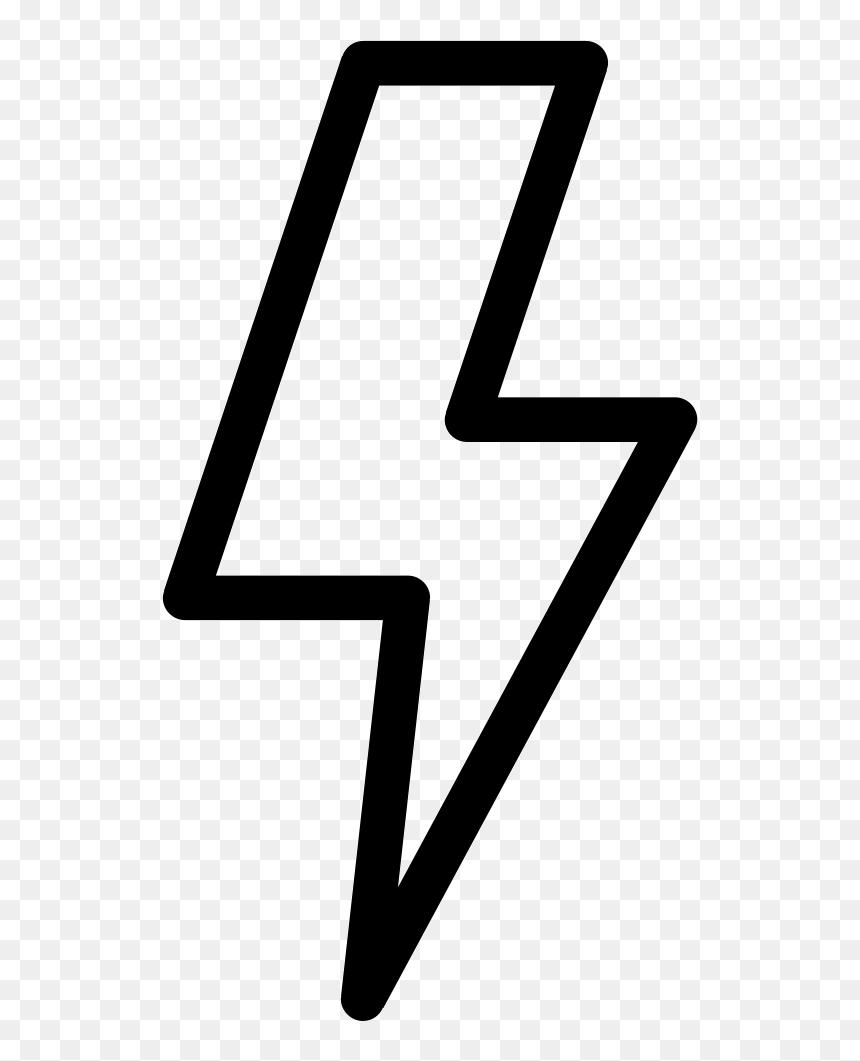Lightning Bolt Icon Png Transparent Png Vhv