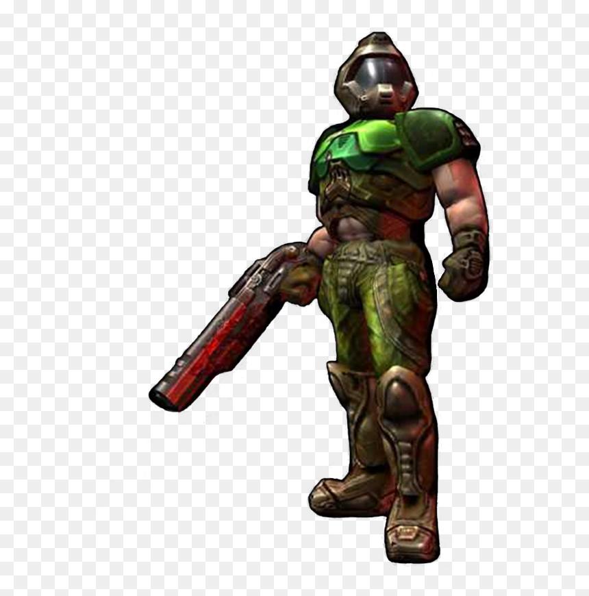 Doom Guy Vs Doom Slayer Hd Png Download Vhv
