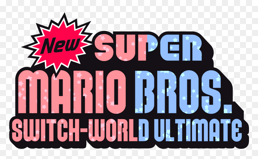 Super Mario Nintendo Switch Font Hd Png Download Vhv