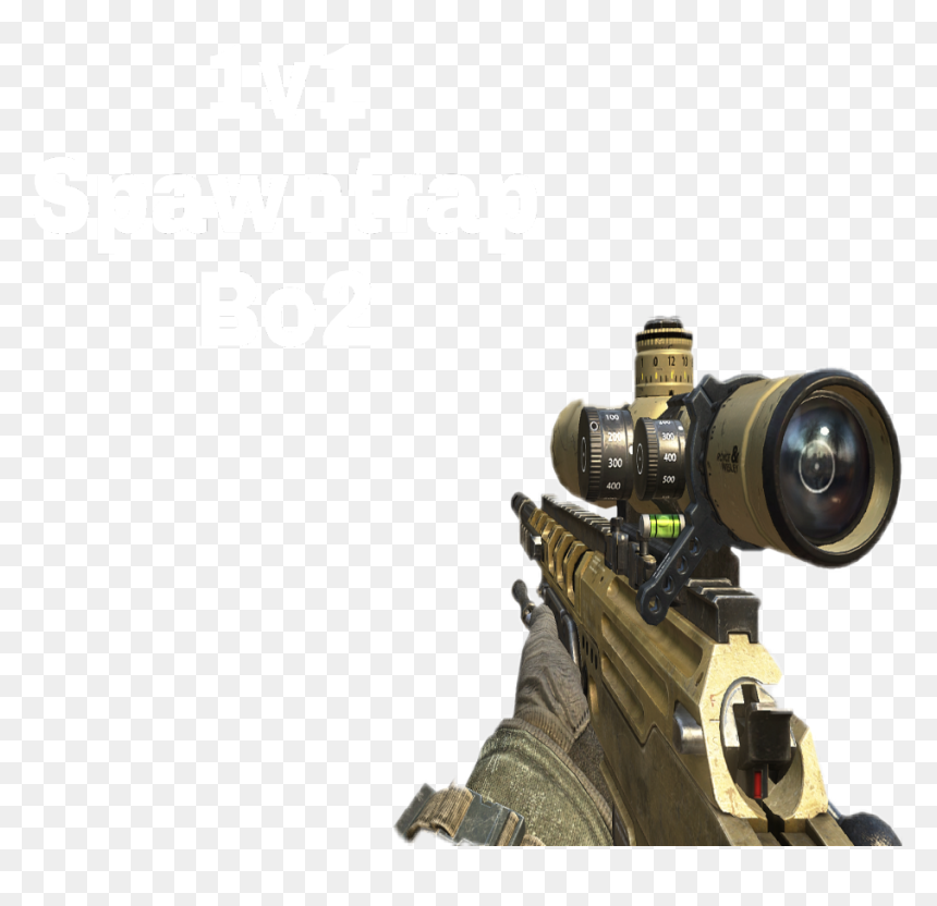 Bo2 Call Of Duty Sniper Png Transparent Png Vhv
