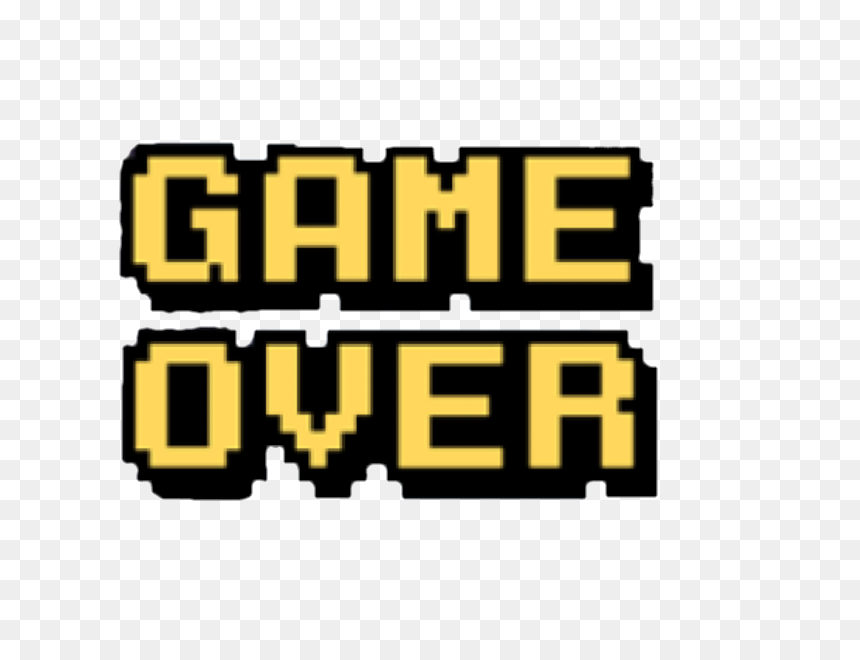 Game Over Png ɀæ˜Ž ȃŒæ™¯ Ç´ æ Rpg Transparent Png Vhv
