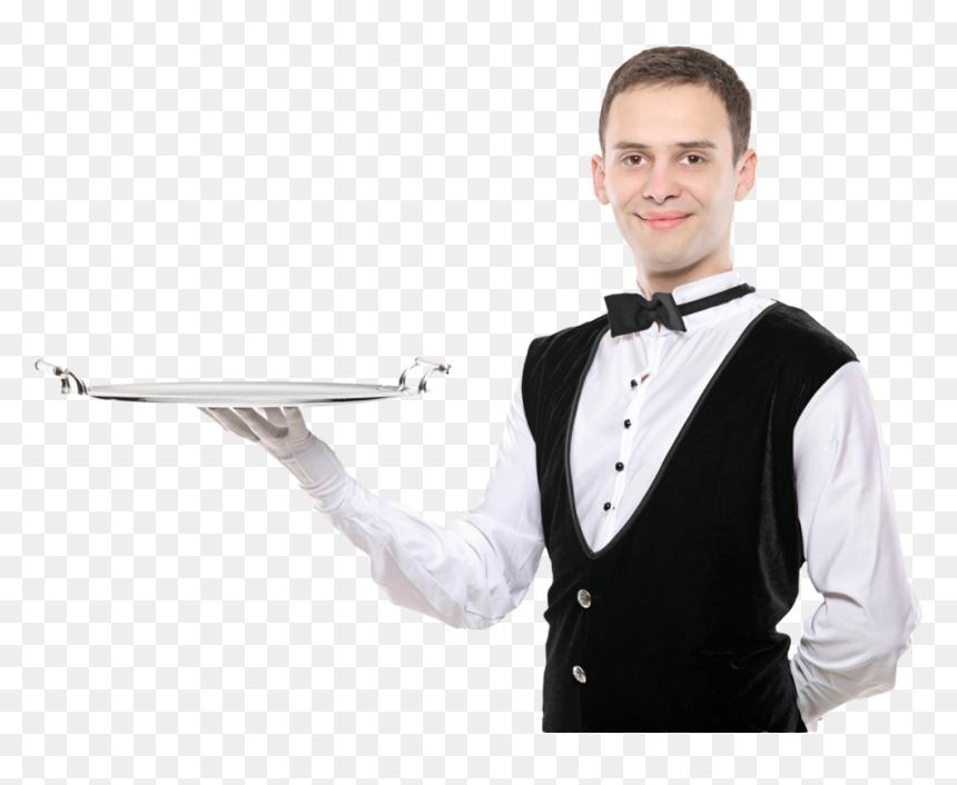 Waiter Hotel Waiter Png Transparent Png Vhv