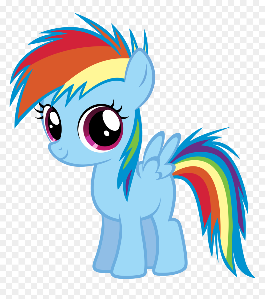 Thumb Image Rainbow Dash My Little Pony Baby Hd Png Download Vhv