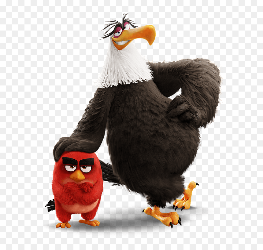 Mighty Eagle The Angry Birds Movie Hd Png Download Vhv