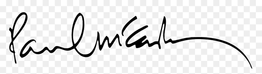 Paul Mccartney Signature Paul Mccartney Signature Png Transparent Png Vhv