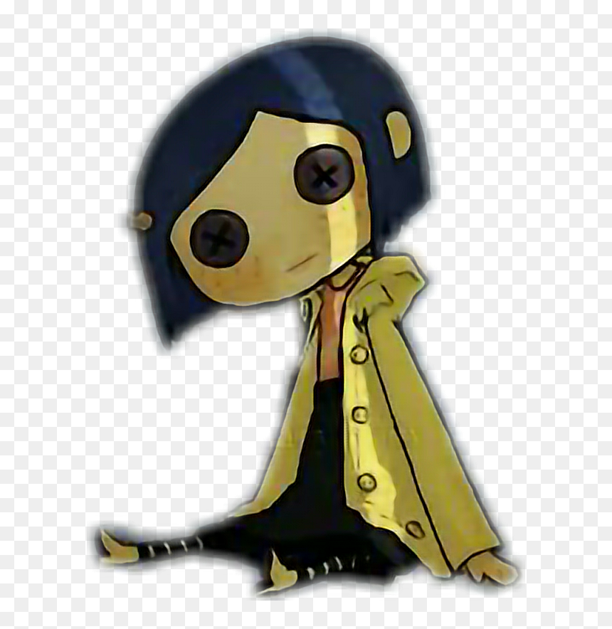 Transparent Coraline Clipart Easy Coraline Doll Drawing Hd Png Download Vhv