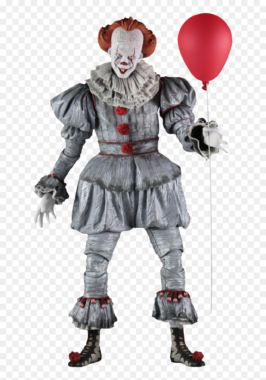 Neca 1 4 Pennywise Hd Png Download Vhv