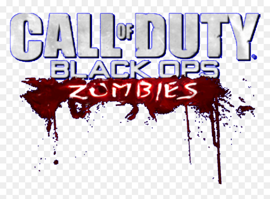 Black Ops 2 Zombies Logo Png Cod Black Ops Zombies Logo Transparent Png Vhv