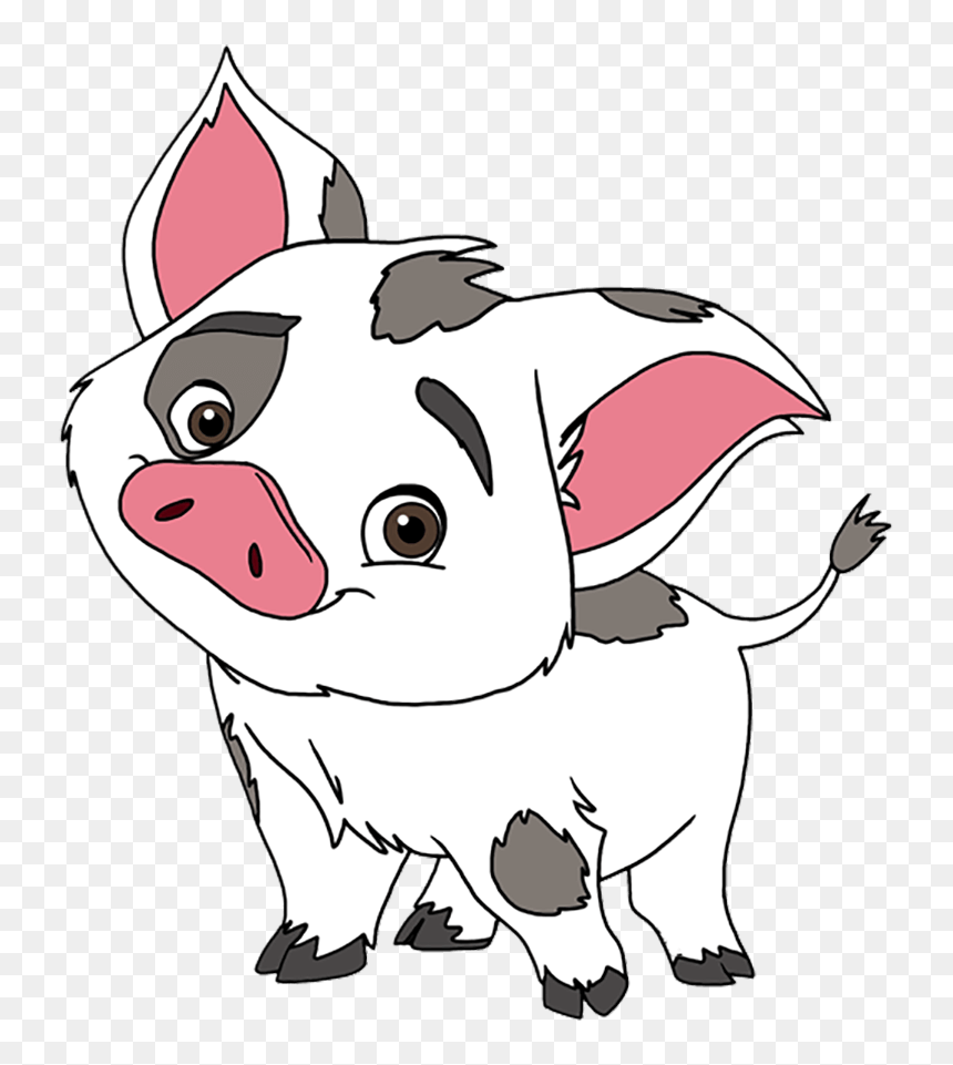 Pua Pet Pig Moana Coloring Pages Printable - Top Coloring Pages ... | 961x860