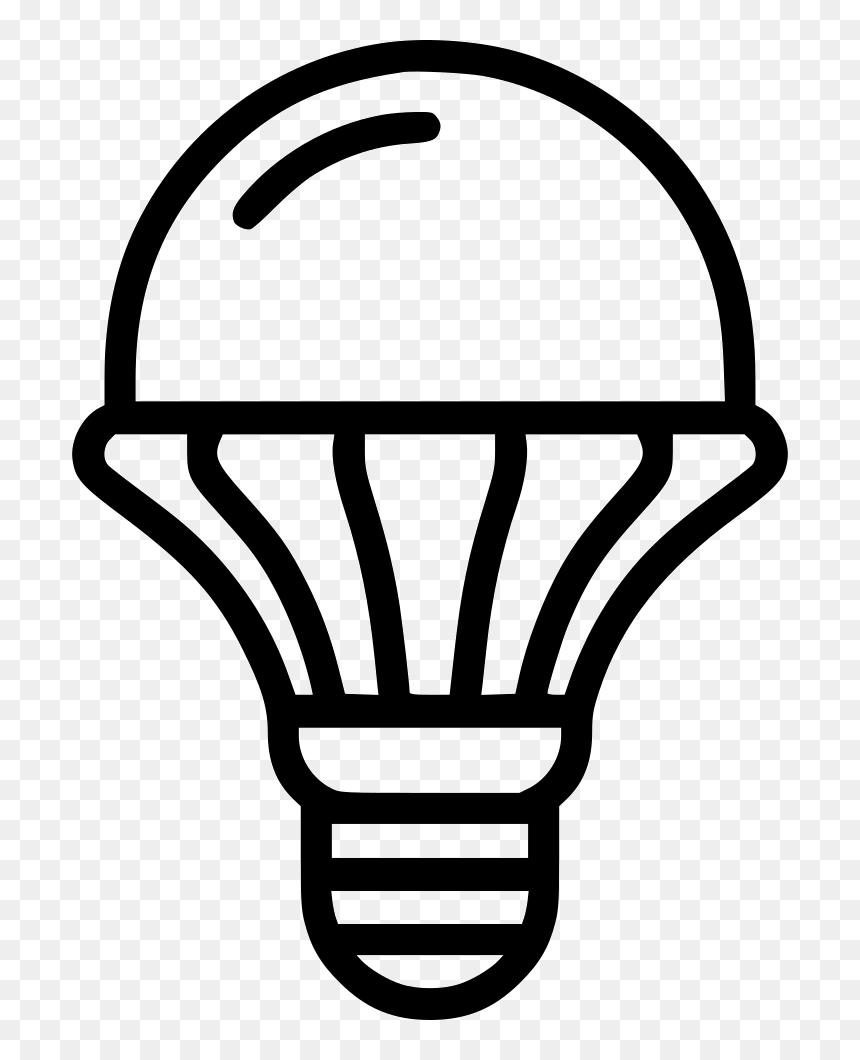 transparent led bulb clipart led light bulbs icon hd png download vhv led light bulbs icon hd png download