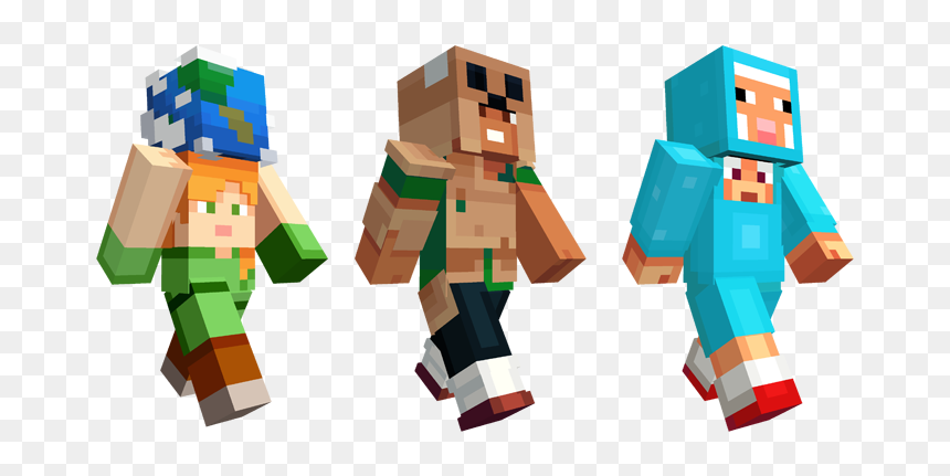 Minecraft Earth Skins Hd Png Download Vhv