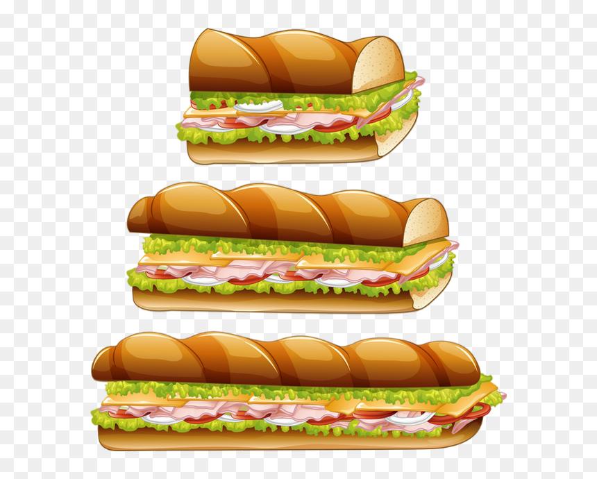 Clipart Sandwichs Vector Tube Png Nourriture Aliments Long Sandwich Png Transparent Png Vhv