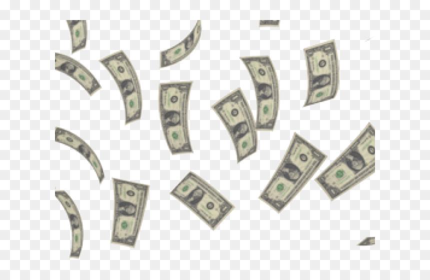 Raining Money Gif Transparent Background Hd Png Download Vhv