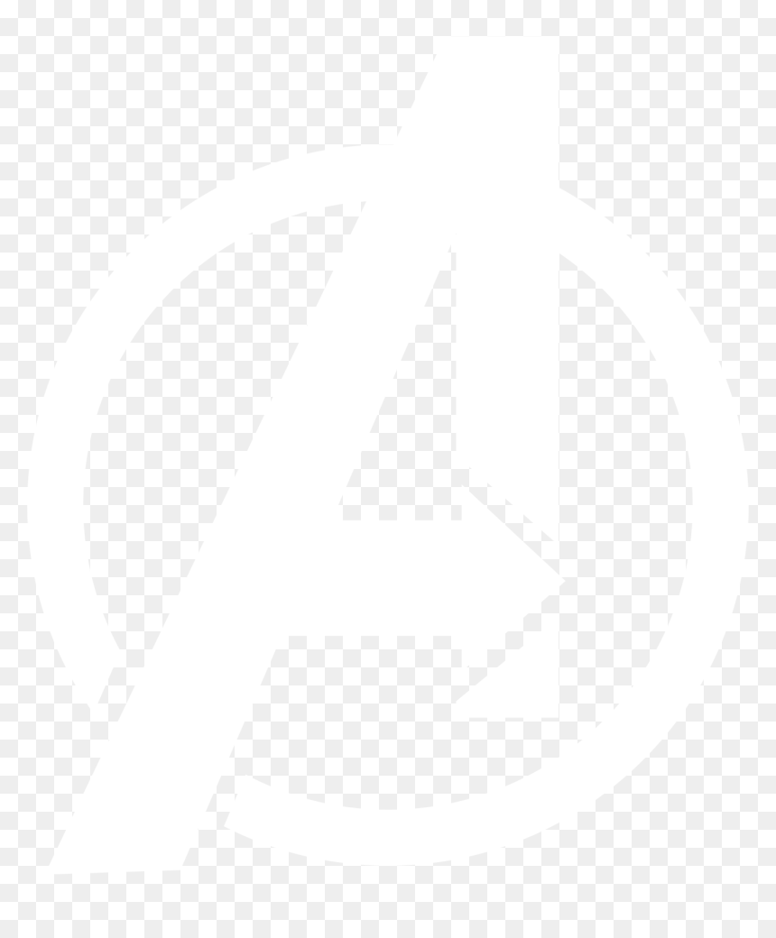avengers logo white transparent hd png download vhv avengers logo white transparent hd png