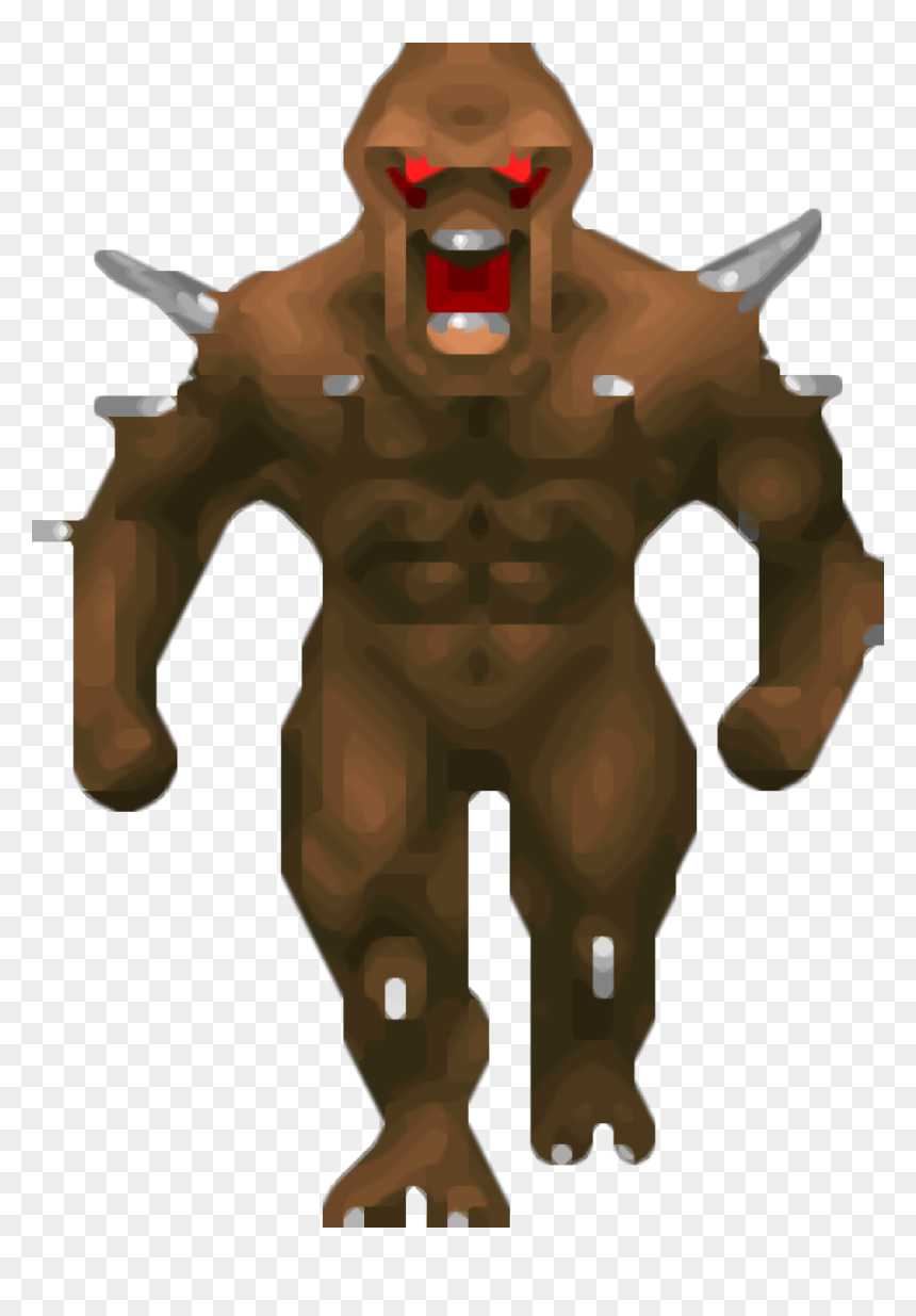 Doom Ii Doom 3 Doom Doom Imp Sprite Hd Png Download Vhv