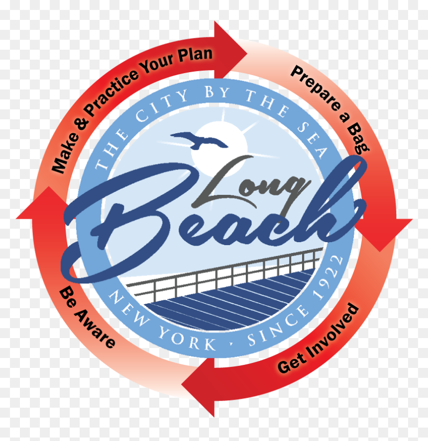 City Of Long Beach Ny Logo Hd Png Download Vhv