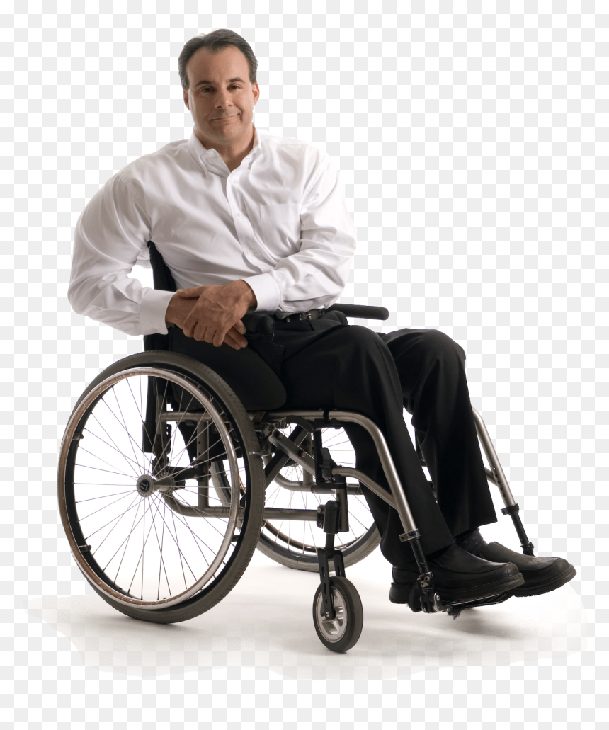 Person In Wheelchair Png Person In Wheel Chair Transparent Png Vhv