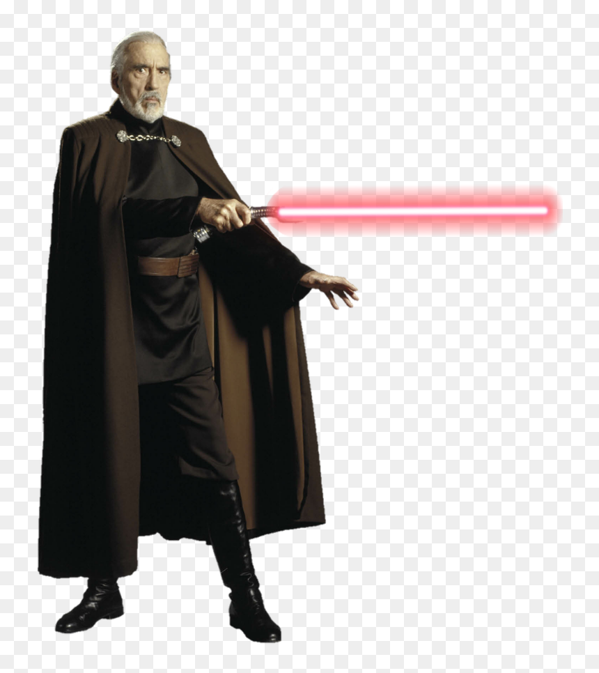 Star Wars Revenge Of The Sith Count Dooku Png By Metropolis Dooku Revenge Of The Sith Transparent Png Vhv