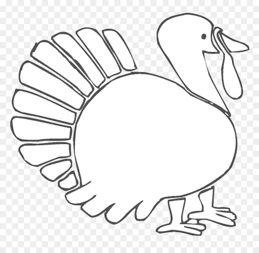 Turkey Thanksgiving Clipart Veles Me Hand Drawing Transparent Thanksgiving Easy Drawing Ideas Hd Png Download Vhv