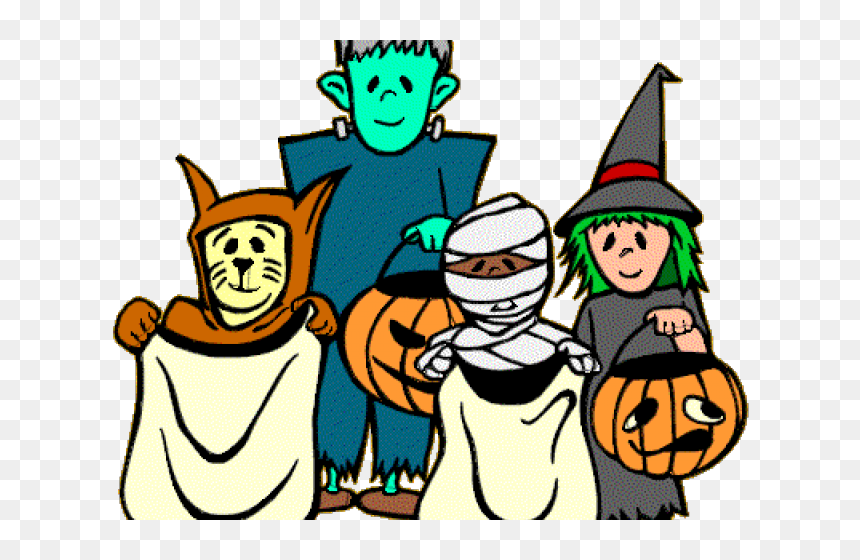 Halloween Trick Or Treat Clipart.Trick Or Treat Clipart Collection Of 14 Free Trick Halloween Clipart Free Hd Png Download Vhv