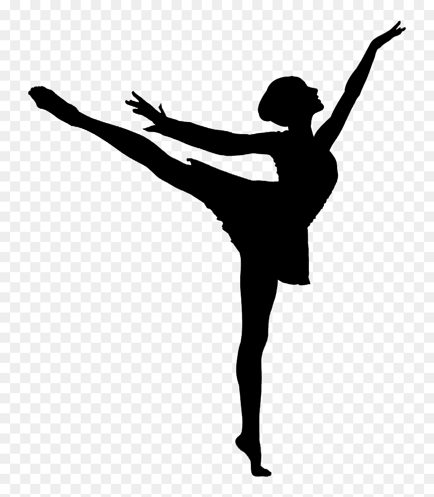 Dancing Girl Silhouette Png Silhouette Dancing Girl Clipart Transparent Png Vhv