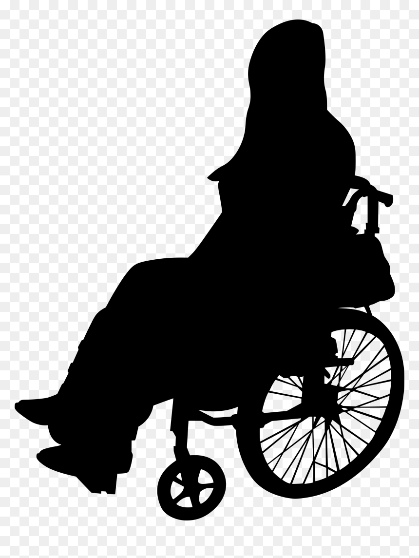 Wheelchair Png Wheelchair Silhouette Png Transparent Png Vhv