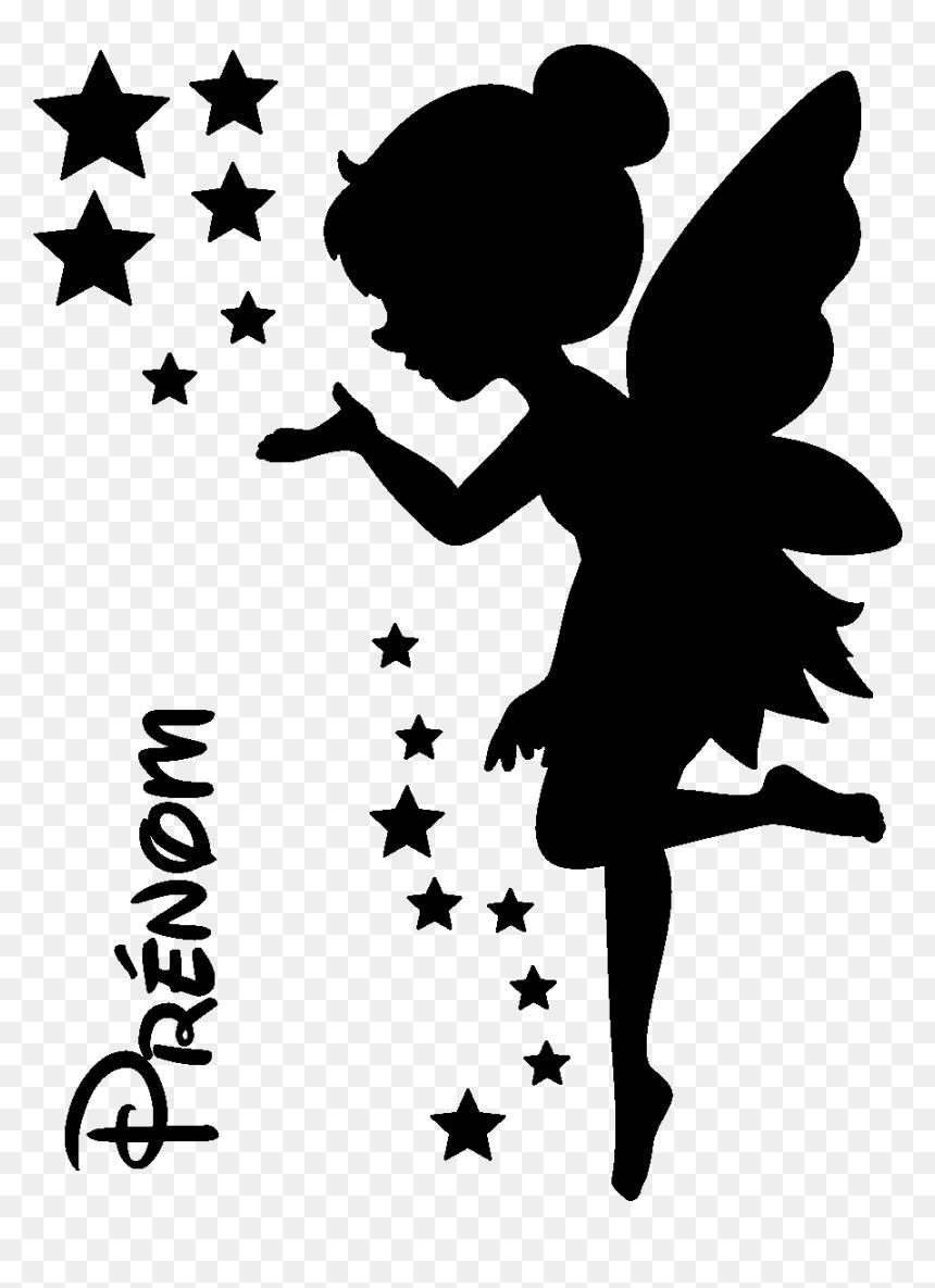 Transparent Varita Magica Png Free Printable Cutout Fairy Silhouette Png Download Vhv