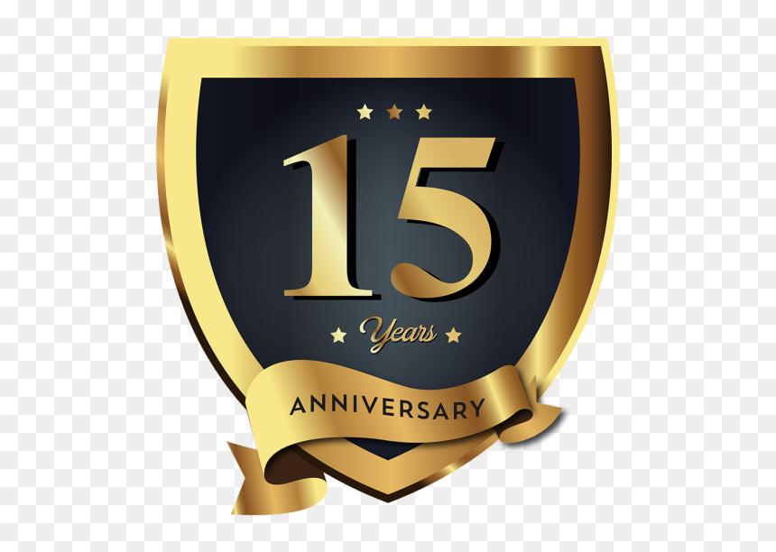 clip art logo 15 anos 1st anniversary logo png transparent png vhv 1st anniversary logo png transparent