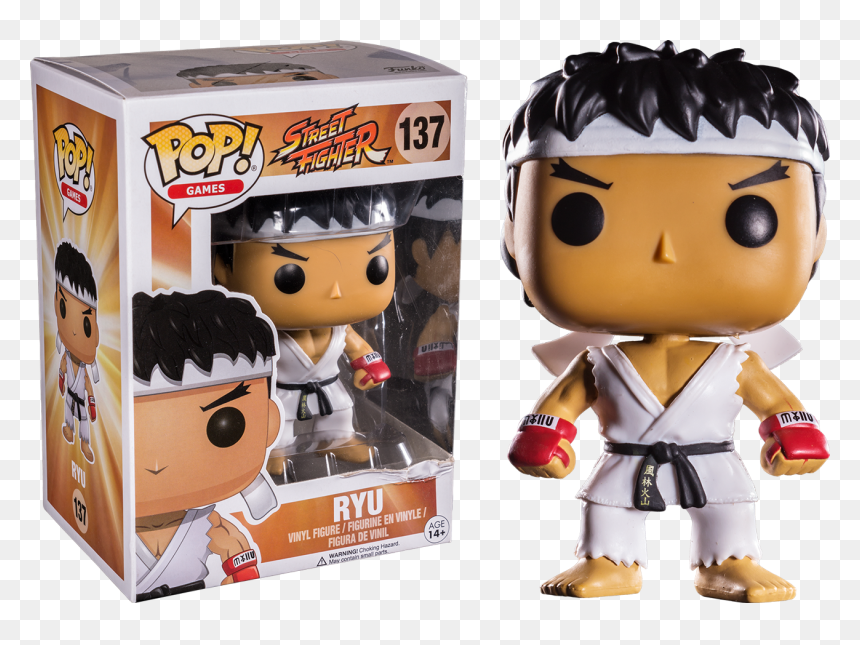 Ryu Street Fighter 5 Png Ryu White Headband Pop Vinyl Funko Pop