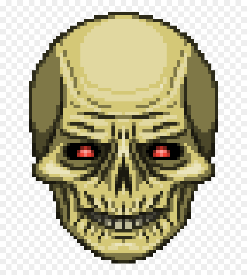 Doom Ii Archvile Doom Head Sprites Hd Png Download Vhv