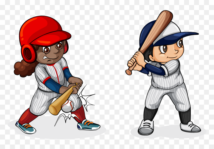 Baseball Bat Stock Photography Clip Art Cartoon Baseball Player Png Transparent Png Vhv