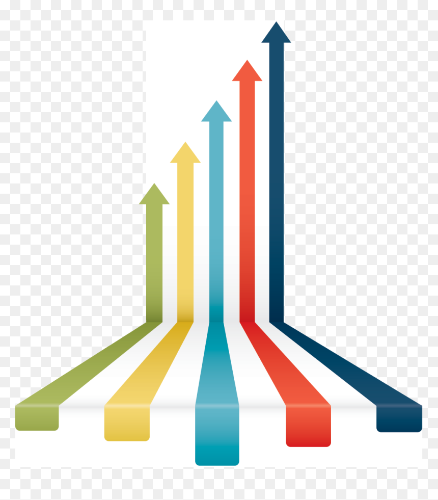 Arrow Business Growth Icon Png, Transparent Png - vhv