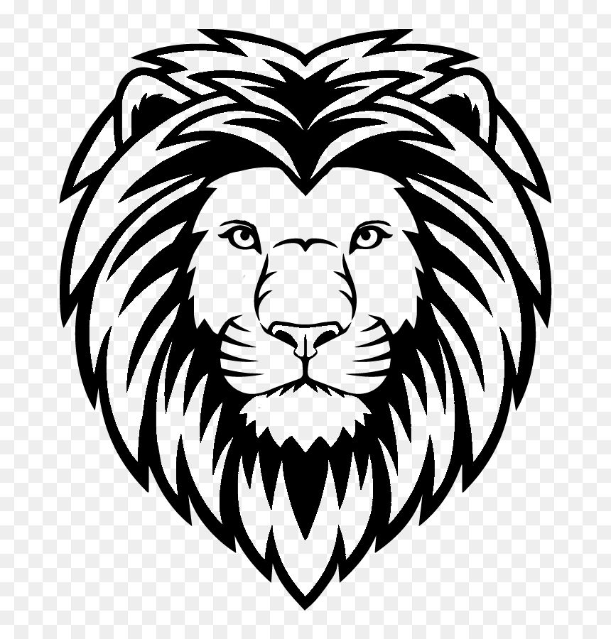 Lion Head Black And White Hd Png Download Vhv Pngtree > logo > lion head outline logo. lion head black and white hd png