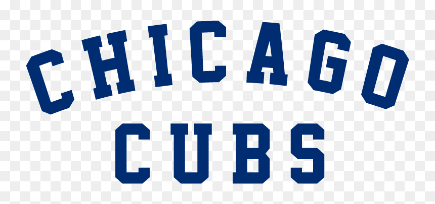 Chicago Cubs Text Logo Hd Png Download Vhv