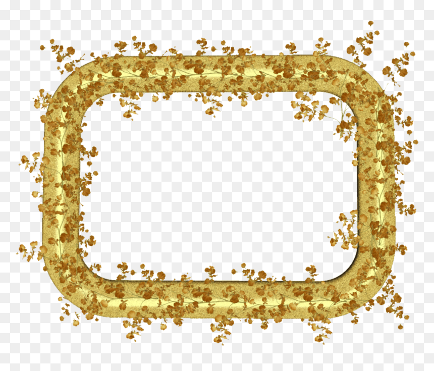Clip Art Gold Leaf Border Golden Leaf Leaves Border Hd Png Download Vhv