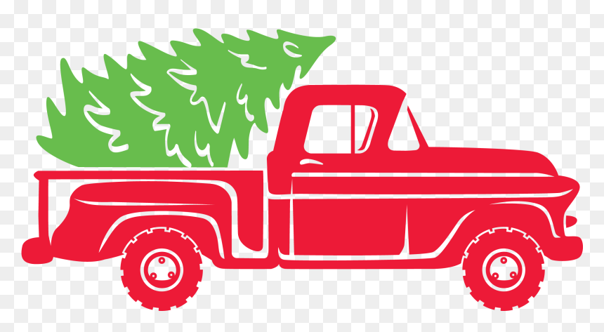 Christmas Truck Svg Christmas Truck Svg Free Hd Png Download Vhv