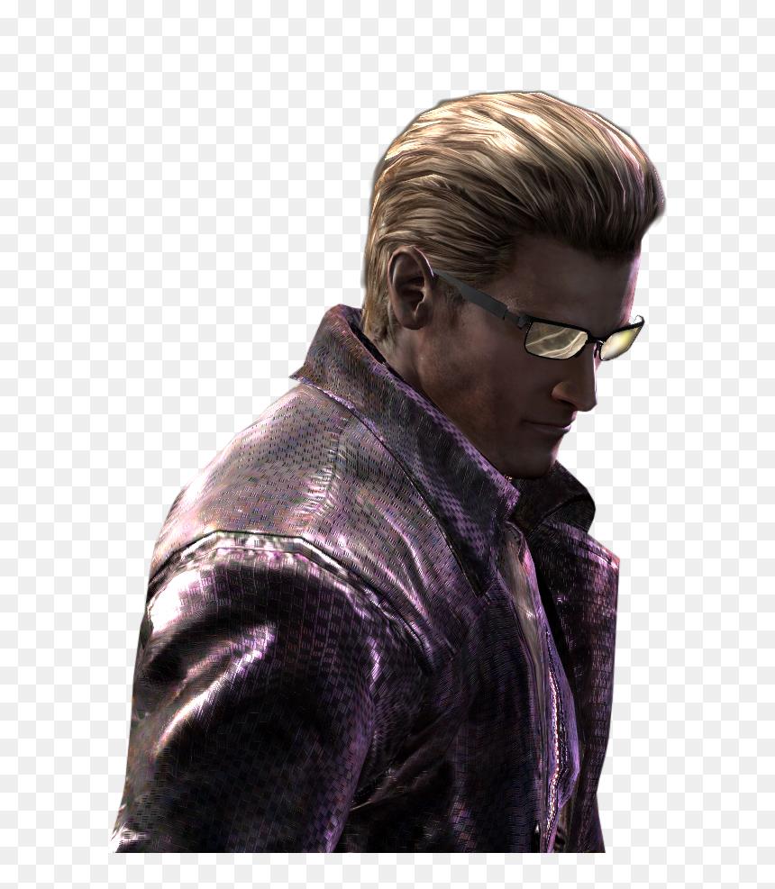 Clip Art Albert Biohazard Chris Redfield Resident Evil 5 Wesker Render Hd Png Download Vhv