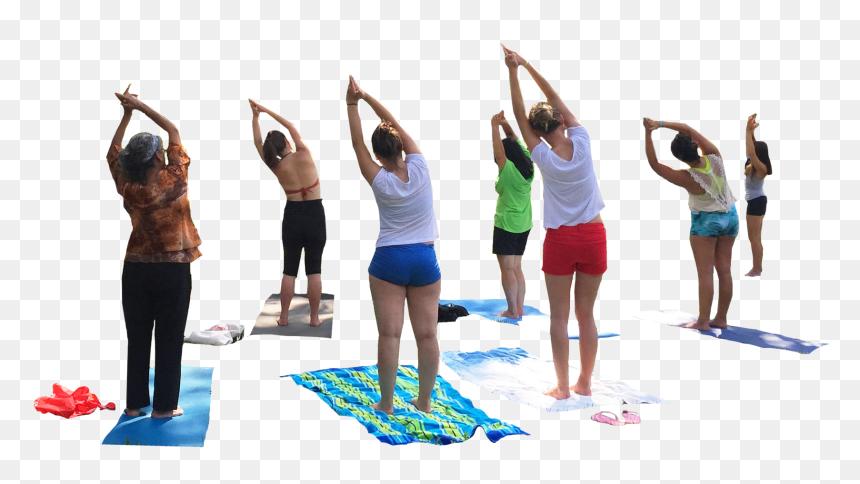 People Doing Yoga Png Transparent Png Vhv