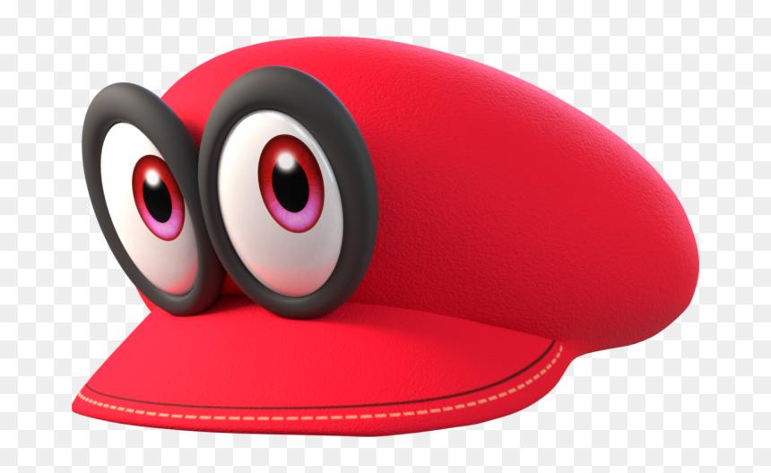 Transparent Cappy Png Super Mario Odyssey Cappy Png Download Vhv