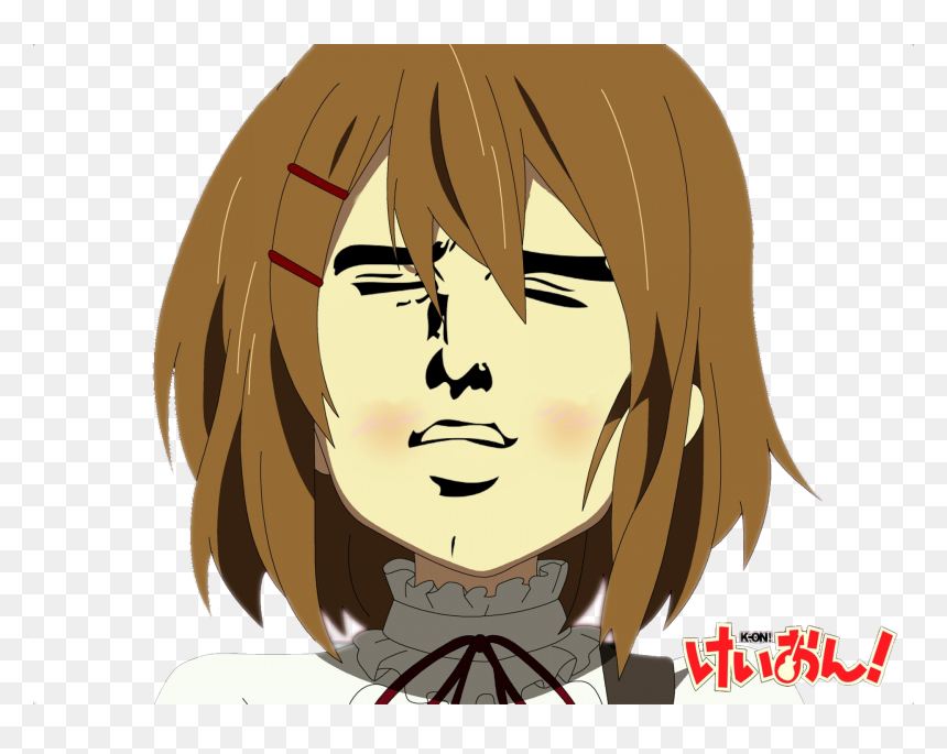 Funny Anime Serious Face Hd Png Download Vhv