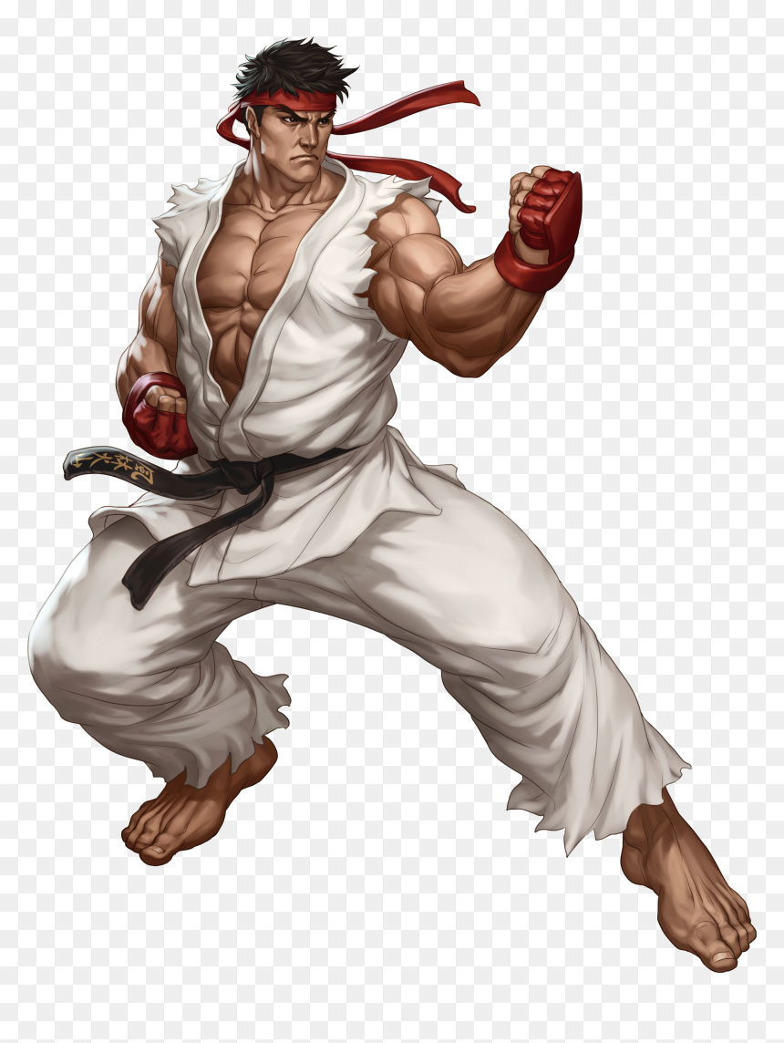 Ryu From Street Fighter Hd Png Download Vhv