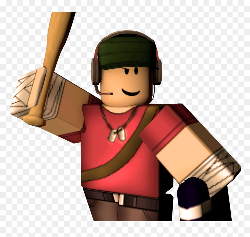 Roblox Tf2 Scout, HD Png Download - vhv