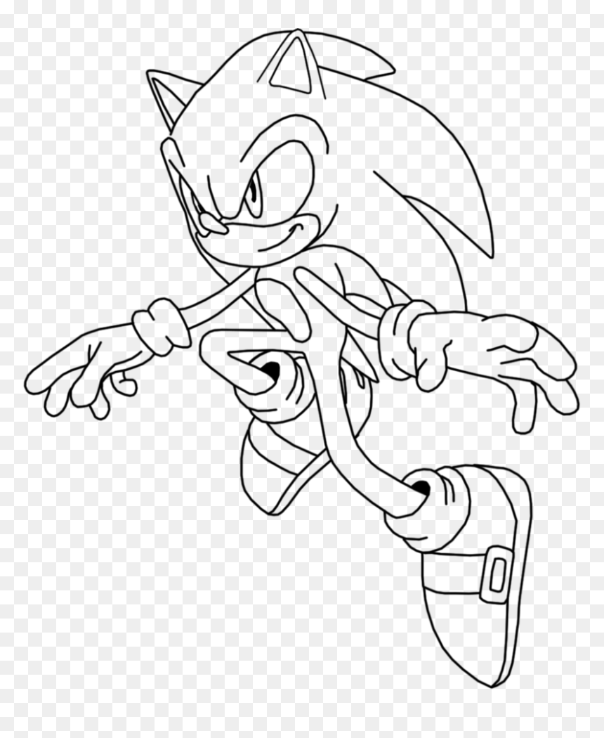 - Free Coloring Pages Of Super Sonic Emeralds - Sonic Desenho Para